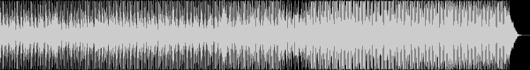 スローテンポの和風ヒップホップの未再生の波形