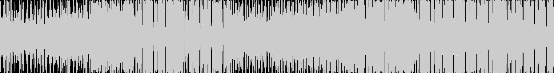 【ループ】三味線フューチャーベースの未再生の波形