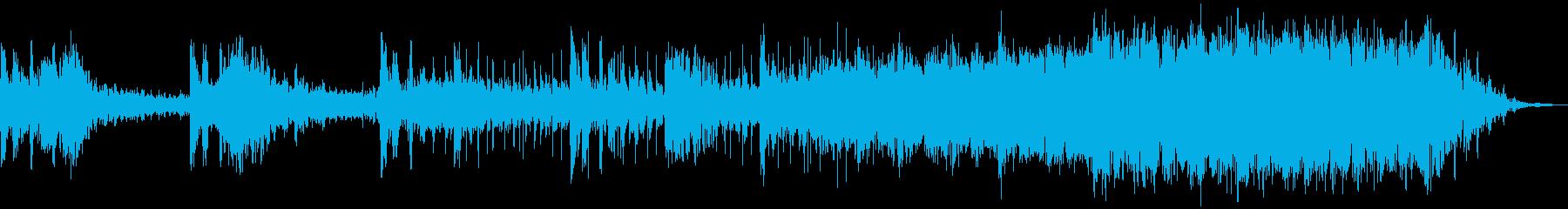 【トレーラー】 ダークな映画予告編 接近の再生済みの波形