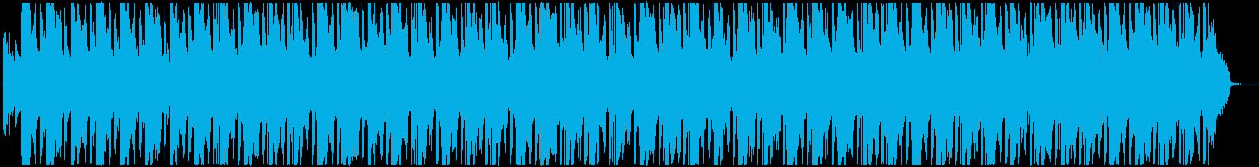 生アコギとシンセの希望を感じるポップスの再生済みの波形