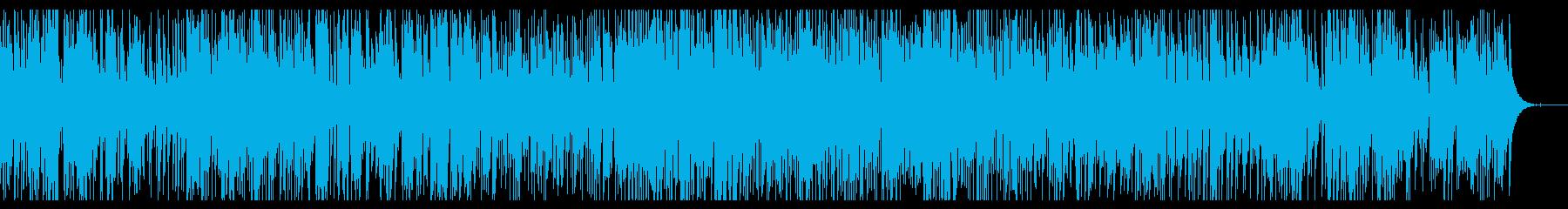 憂鬱な日のスローテンポのJAZZの再生済みの波形