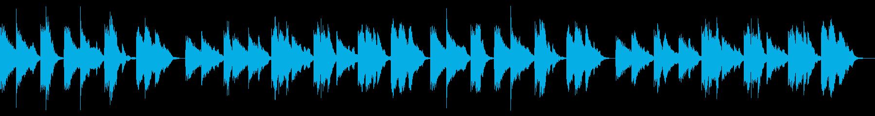 アンニュイで美しいピアノソロ作品です。の再生済みの波形
