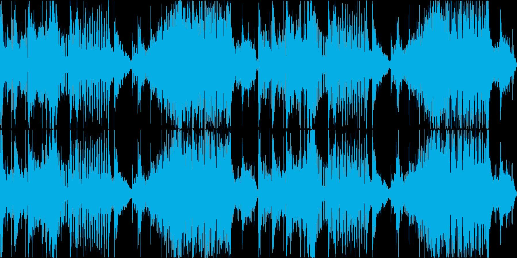 工場、機械系ダンジョンBGMの再生済みの波形