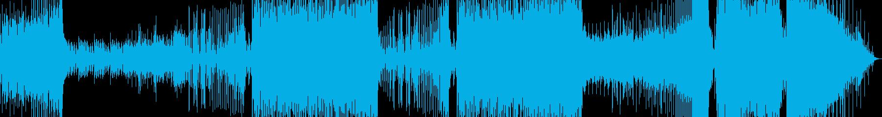 注目を集めるギターが引っ張るEDMの再生済みの波形