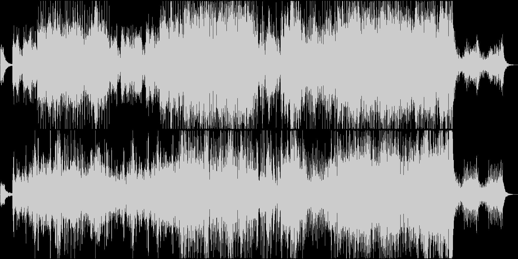 透明感のある軽快でハッピーなピアノBGMの未再生の波形