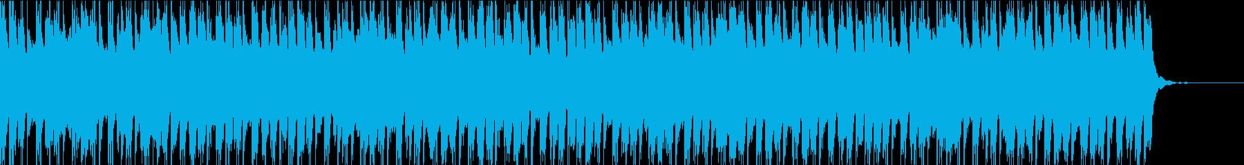 少し寂しさを感じる短編BGMの再生済みの波形