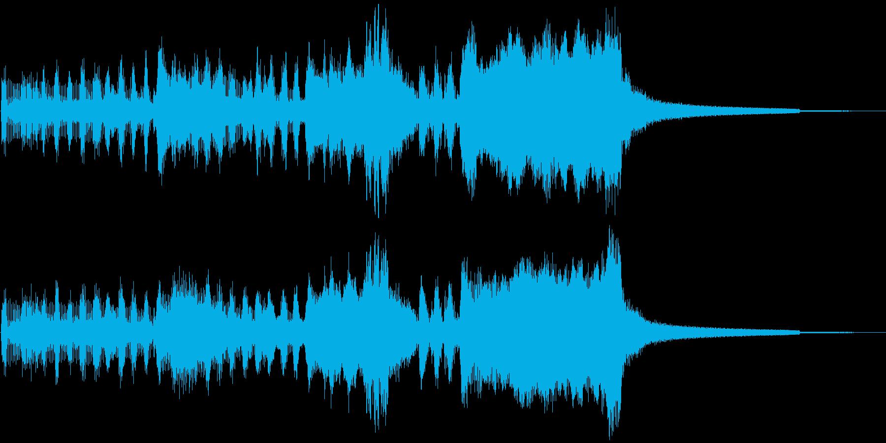 G1競馬風のファンファーレ・賞発表の再生済みの波形