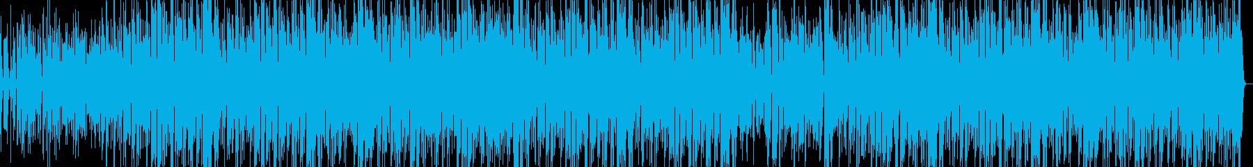 サルサ。良いサックスとフルート。の再生済みの波形