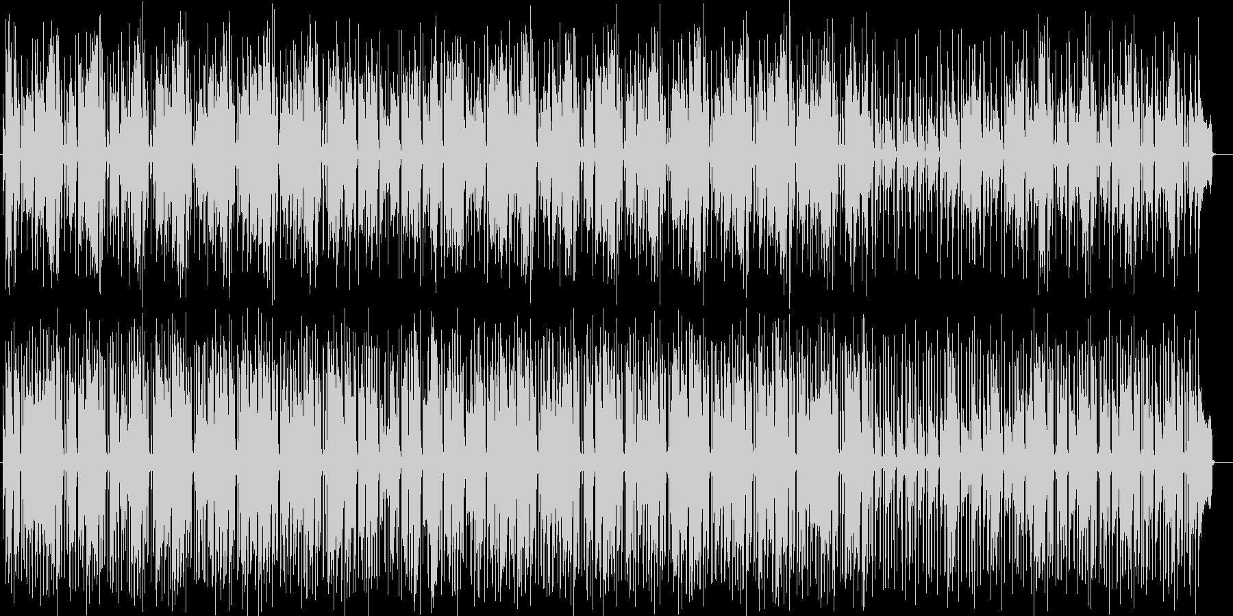 ギターのリフがおしゃれなアーバンAORの未再生の波形