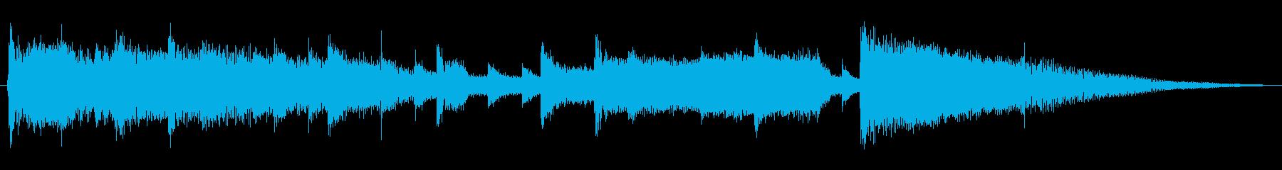ジングル・リラックスした日常・チルアウトの再生済みの波形