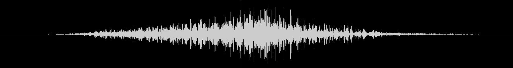 トランジション ヒューシュ16の未再生の波形