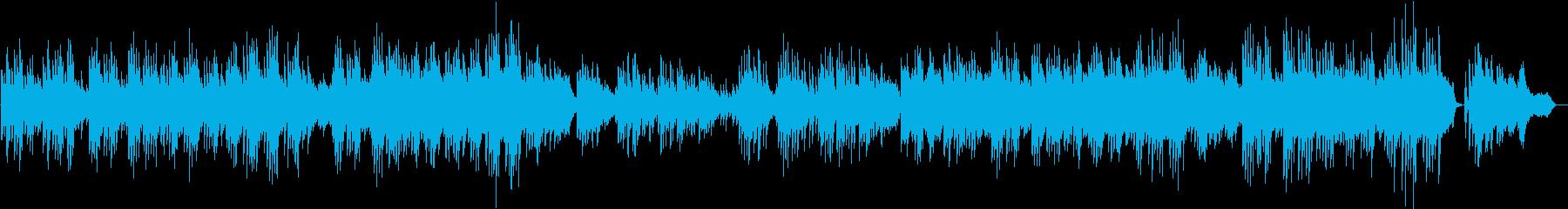 哀愁 美しい ピアノ 生演奏 オケ付きの再生済みの波形