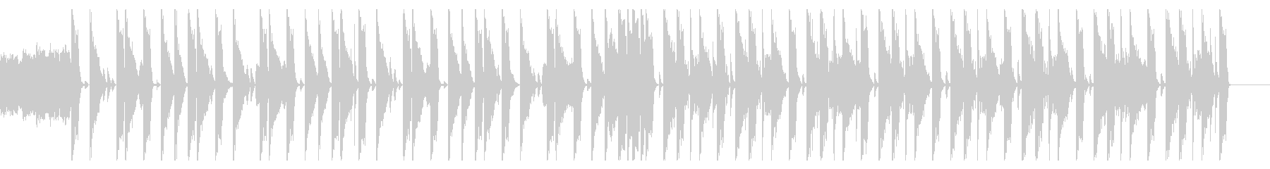 146 BPMの未再生の波形