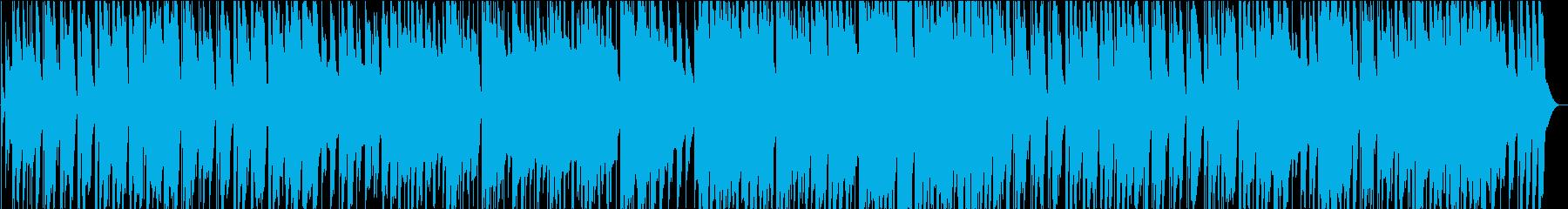 新しい日常に期待を膨らませるワクワク曲の再生済みの波形