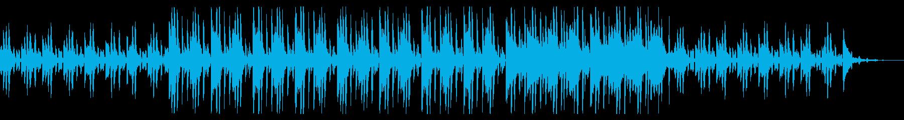 宇宙を感じる独特なメロディーの再生済みの波形
