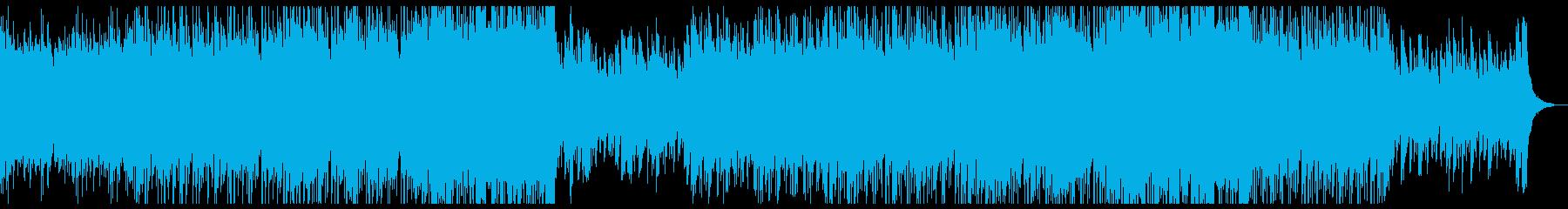 ピアノの雄大で爽やかなチルポップ。の再生済みの波形