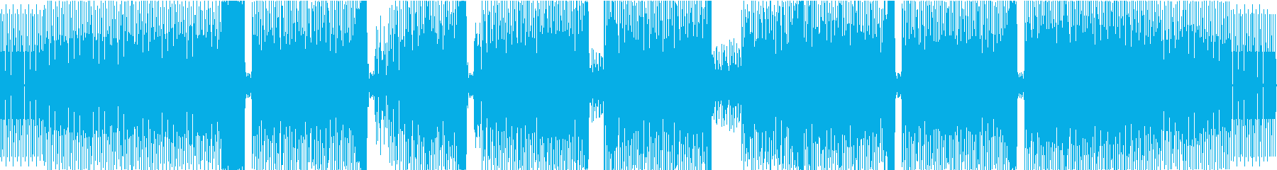 コマーシャルディープハウス。サンプ...の再生済みの波形
