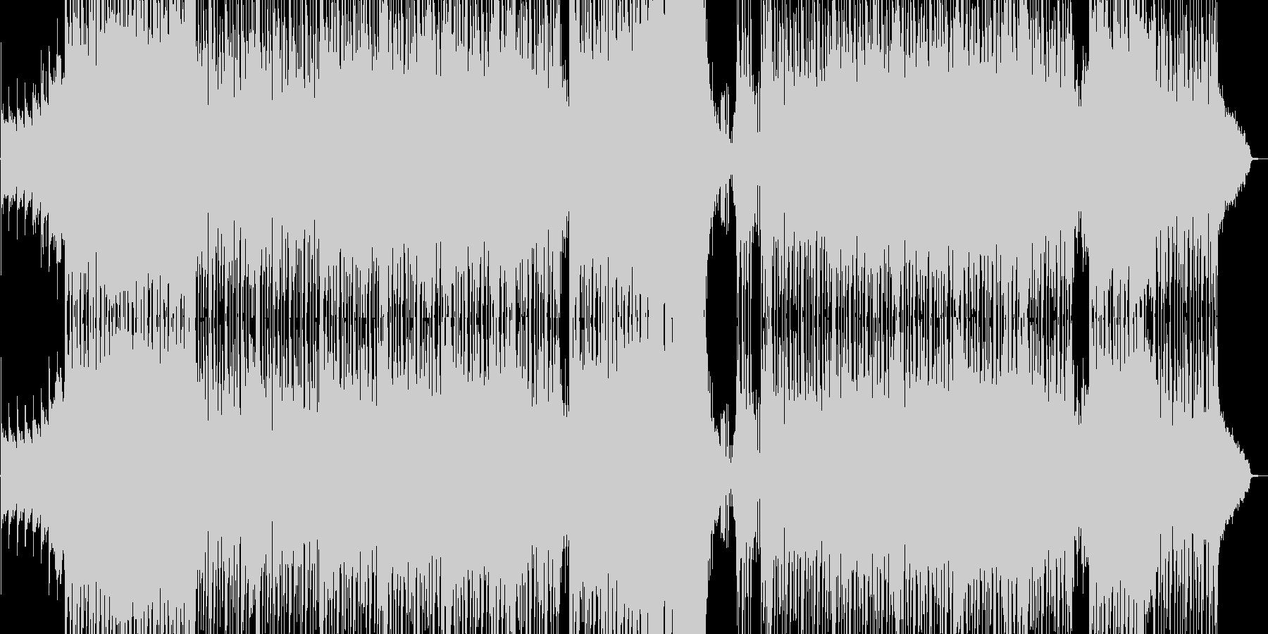 張り付く恐怖感を意識したドラムンベースの未再生の波形