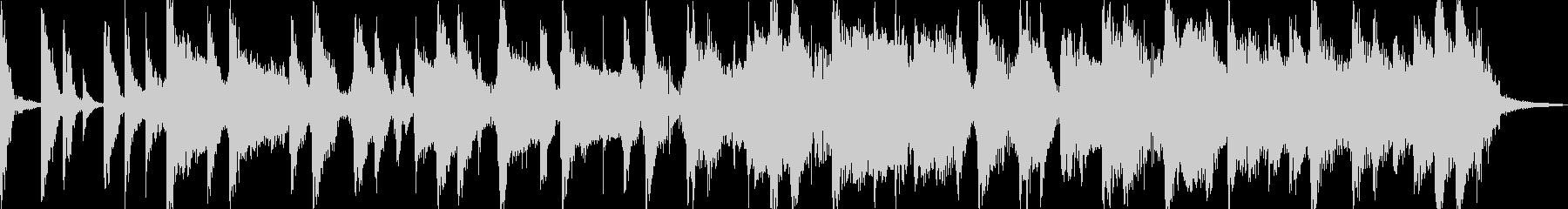 ギターとピコピコ音のポップなジングルの未再生の波形