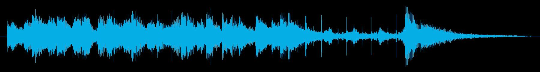 柔らか系で、ちょっとぽやんとした、10…の再生済みの波形