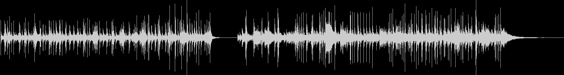 ドラムセット、ソロ、ブラシ、フルキ...の未再生の波形