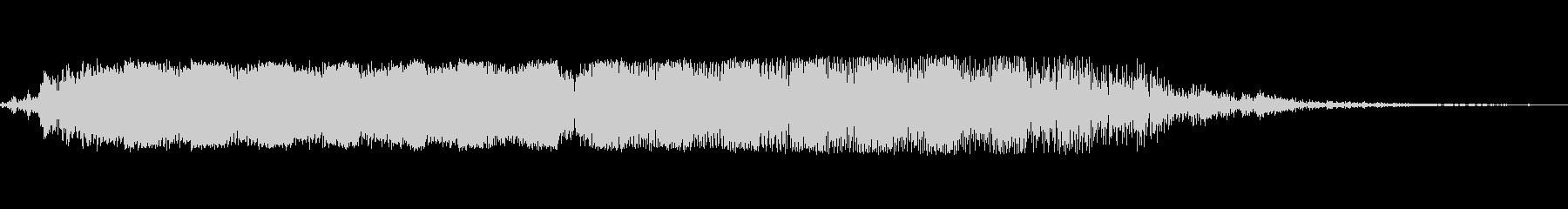 ビヨーンと言ったゲーム音の未再生の波形