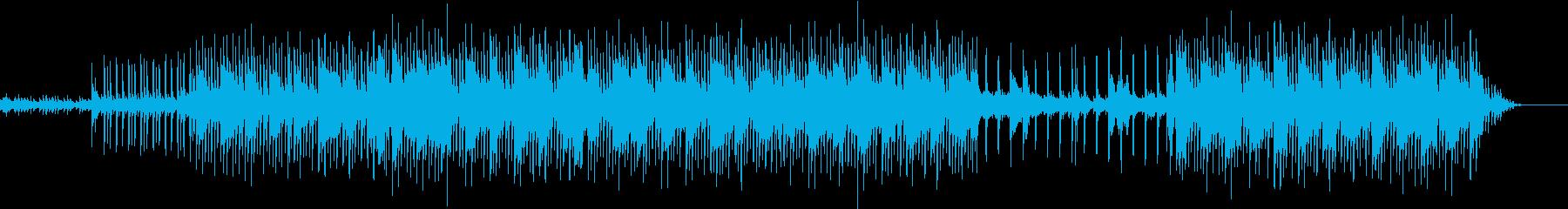 くつろいだネコのイメージのポップスの再生済みの波形