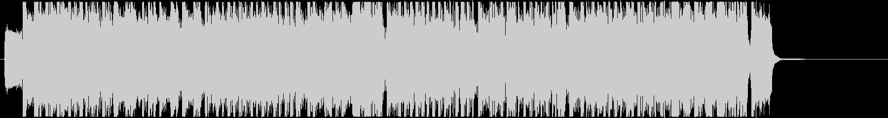 生演奏メタルなジングル16の未再生の波形