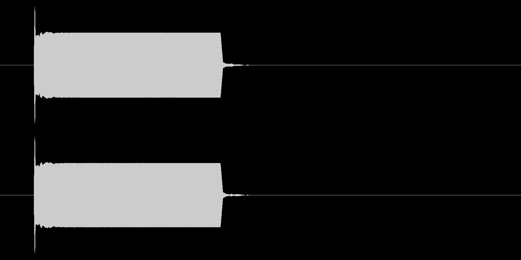改札 ビープ音01-07(音色2)の未再生の波形