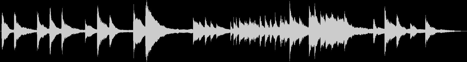 現代の交響曲 室内楽 感情的 バラ...の未再生の波形