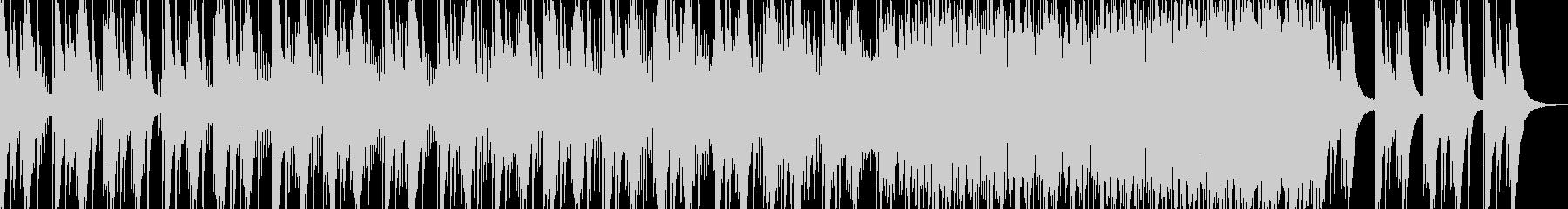 スタイリッシュなCM、ショートムービーの未再生の波形