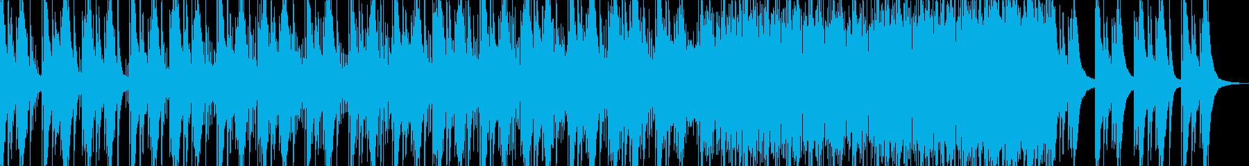 スタイリッシュなCM、ショートムービーの再生済みの波形