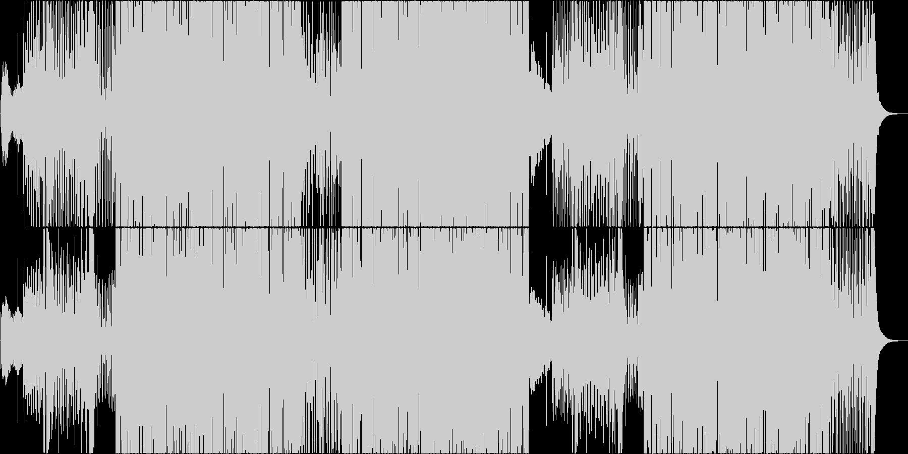 60〜70年代映画音楽のDJリミックスの未再生の波形