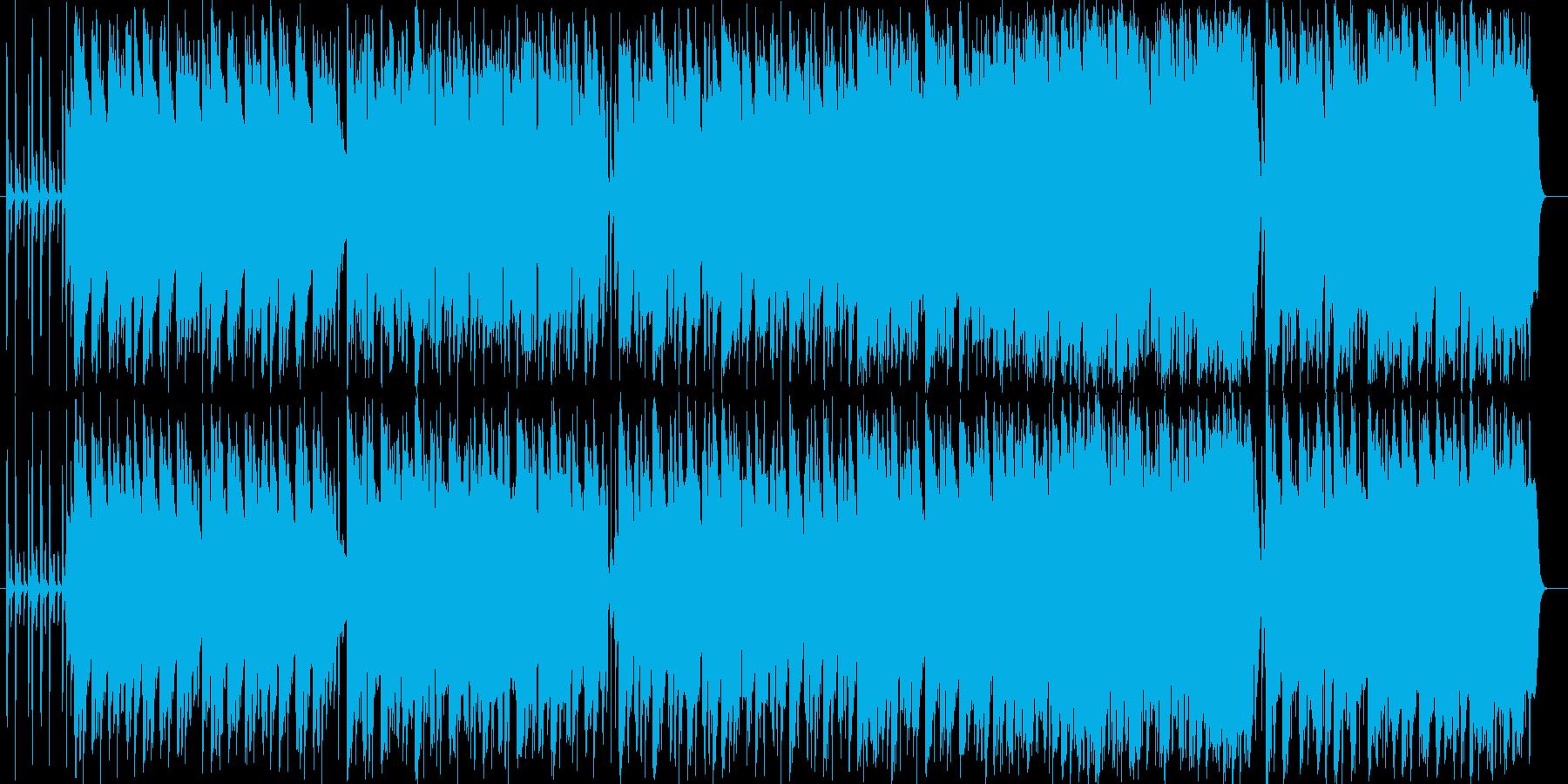 人工知能をイメージして作曲しました。ピ…の再生済みの波形