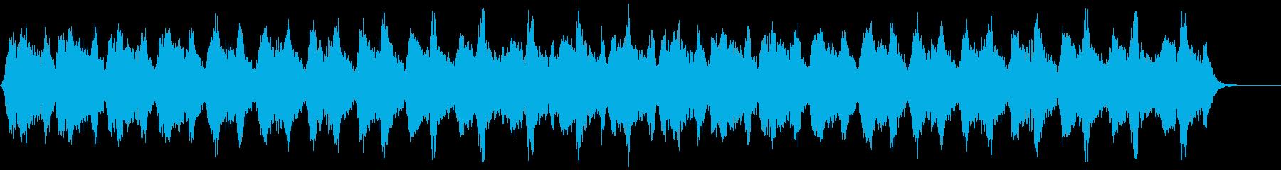 オーロラをイメージして作りました。の再生済みの波形