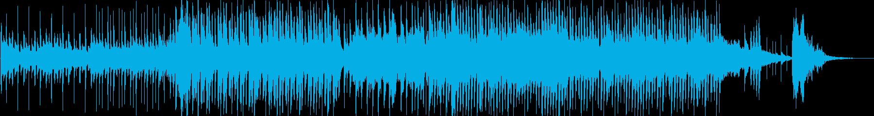 電子。基本的なリズミカルな効果音、...の再生済みの波形