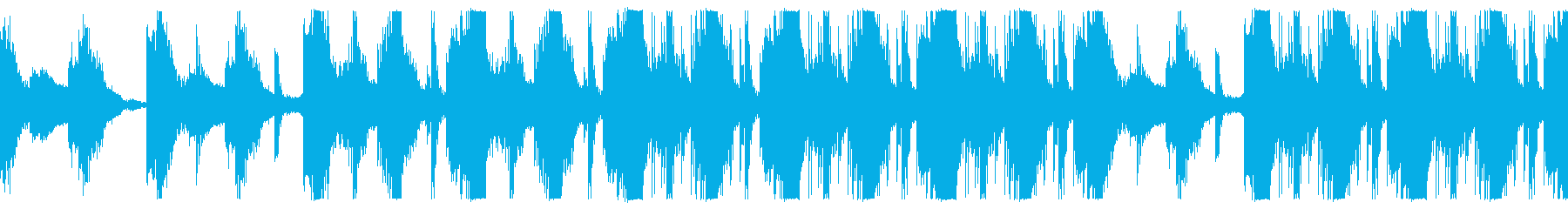 ディレイ感のある壮大なオーケストラリズムの再生済みの波形