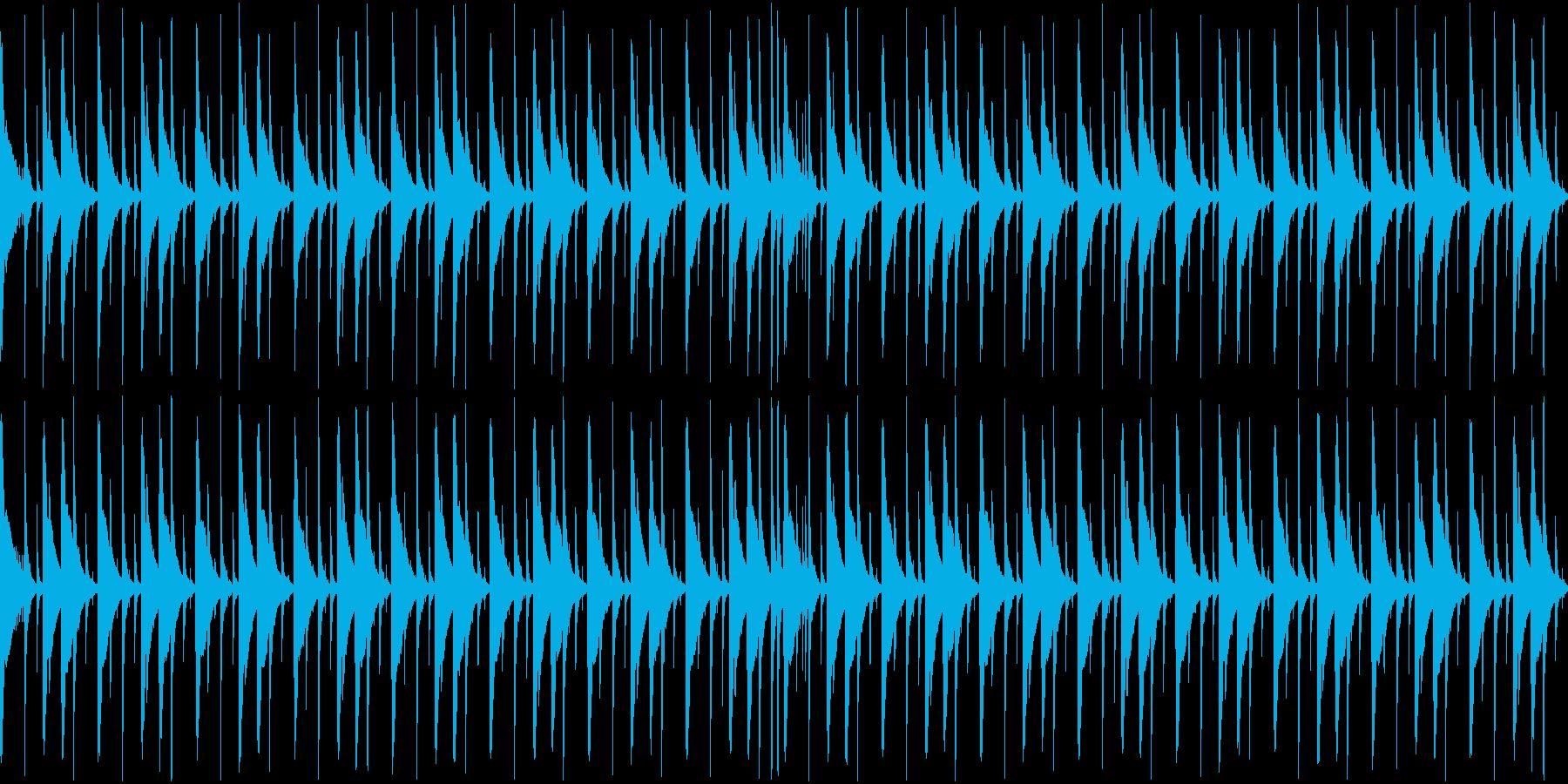 ジャンベ|リズム・ループ 2の再生済みの波形