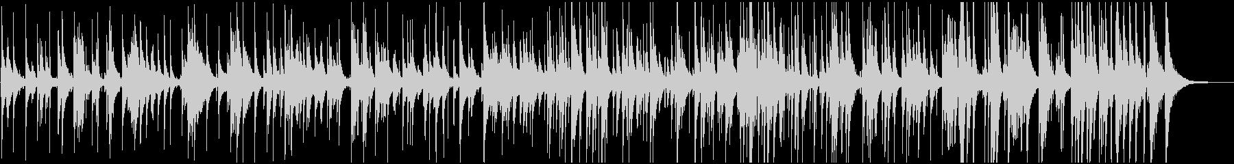 秋や冬に合う黄昏のジャズ トリオの未再生の波形