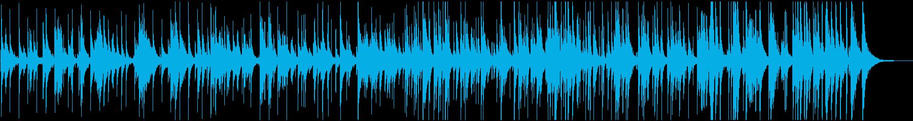 秋や冬に合う黄昏のジャズ トリオの再生済みの波形