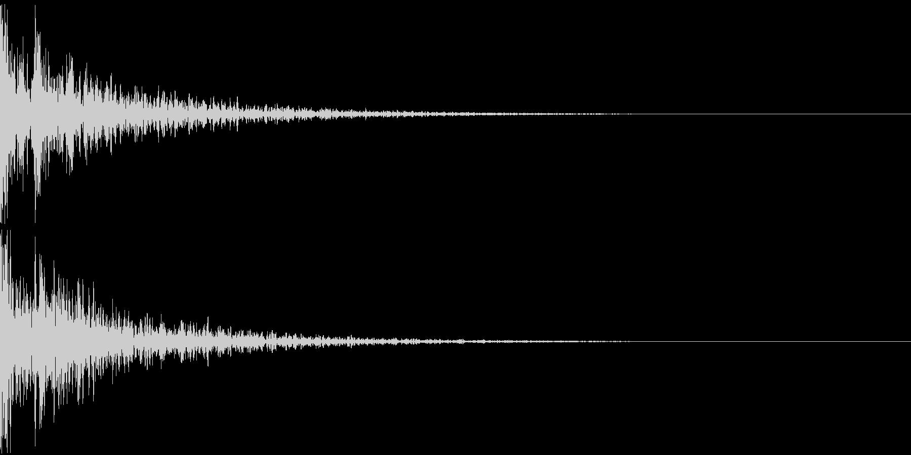 ドーン-09-2(インパクト音)の未再生の波形
