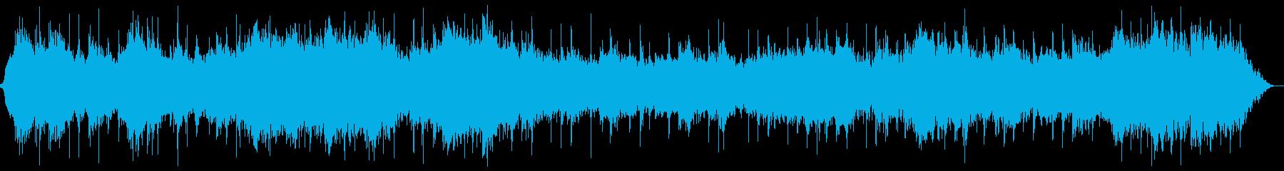 和風ヒーリング 琴 マインドフルネスの再生済みの波形
