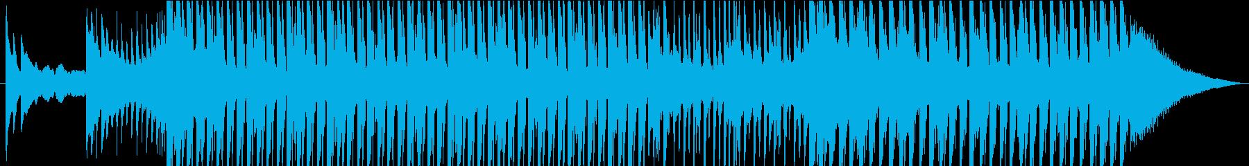 美しいピアノのメロディーと堅実で高...の再生済みの波形