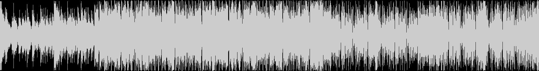 和楽器をフィーチャーしたEDM:ループAの未再生の波形