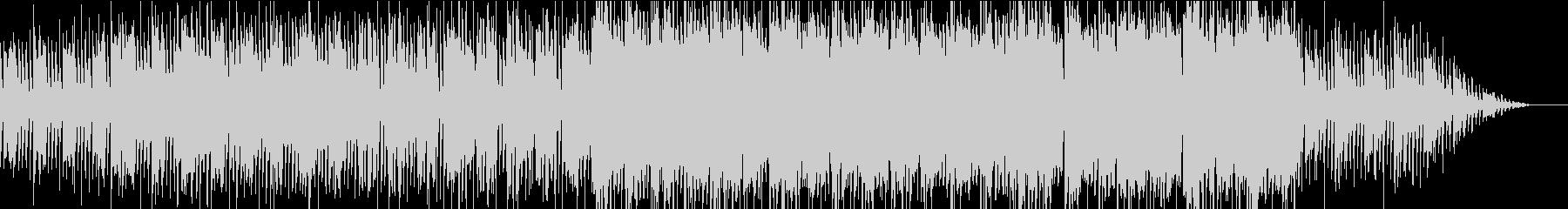 アコーディオンを使った疾走感溢れる曲の未再生の波形