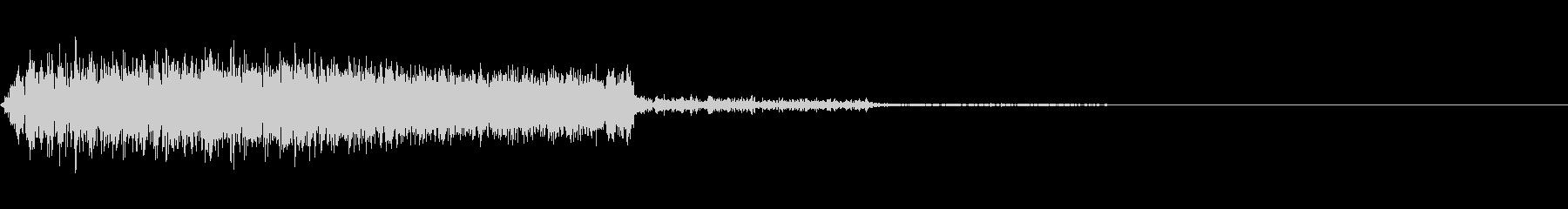 シューッという音EC07_89_2 2の未再生の波形