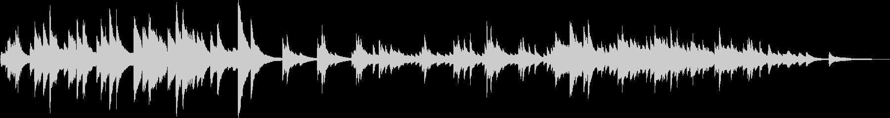 決別(ピアノ・かっこいい・切ない)の未再生の波形