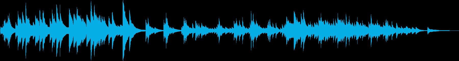 決別(ピアノ・かっこいい・切ない)の再生済みの波形