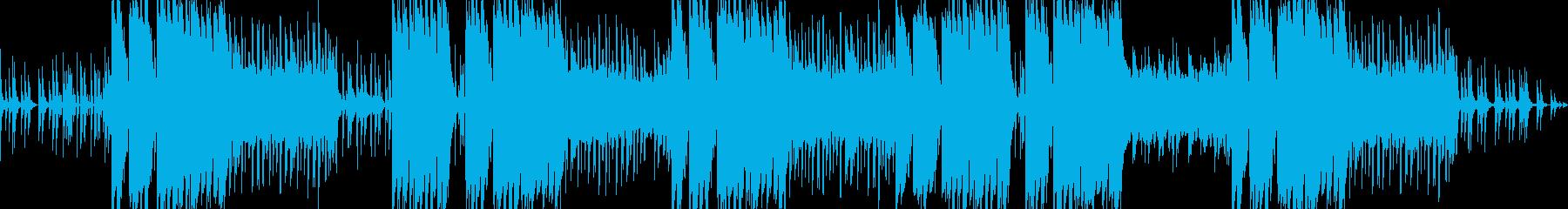 チルなシンセのエモトラップの再生済みの波形