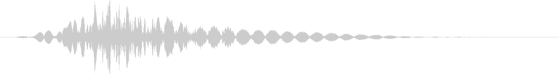 KAKUGE 格闘ゲーム戦闘音 65の未再生の波形